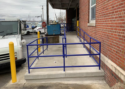 New ADA-Ramp & Handrail